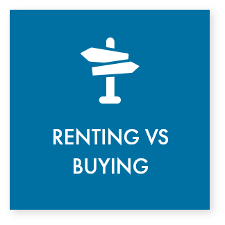 Click to use our calculator to compare renting vs. buying